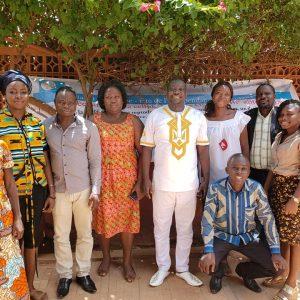 Visite de l'ONG CordAid
