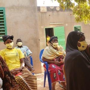 3000 masques de protections pour nos femmes vulnérables