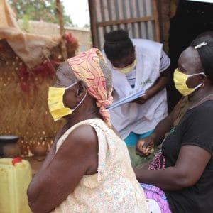 Sorties terrains de distributions de masques de protection contre le COIVD19
