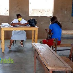 En clinique mobile médicale et juridique sur les DSSR pour éduquer et soutenir nos bénéficiaires
