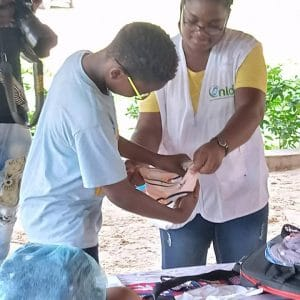 Santé des enfants, ONIDS sensibilise des jeunes lors de leur camp vacances