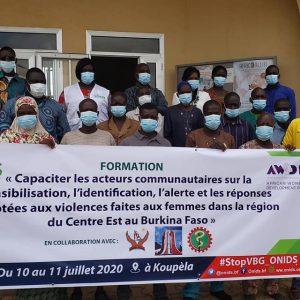 Capaciter les relais communautaires pour la communication sur les VBG dans 20 Villages