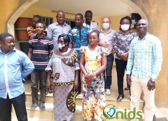 ONIDS au Sous cluster Protection de l'enfance du Centre Est du Burkina